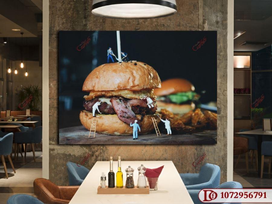 تابلو برای رستوران